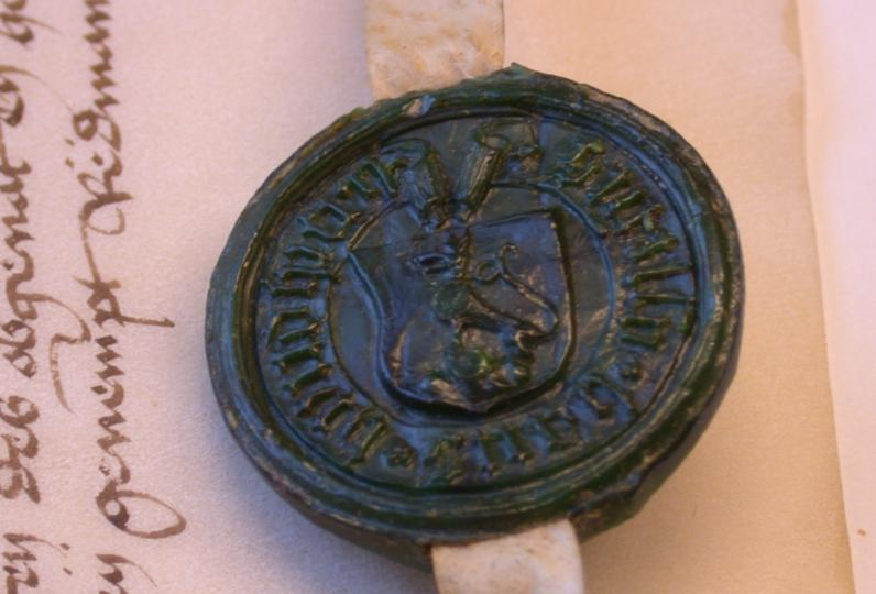 The Hundsperg Seal Dated 1452